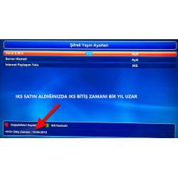 Next IKS Server ve IPTV Yenileme Kodu